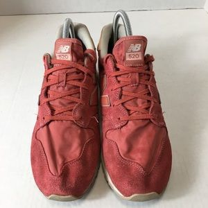 New Balance 520 Pink Walking Shoes